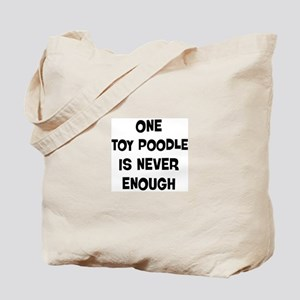 One Toy Poodle Tote Bag