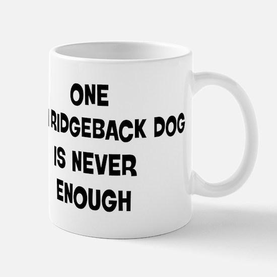 One Thai Ridgeback Dog Mug