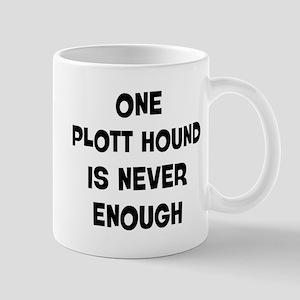 One Plott Hound Mug