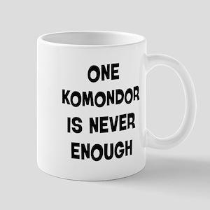 One Komondor Mug
