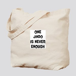 One Jindo Tote Bag