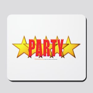 5 Star Party Mousepad