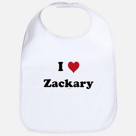 I love Zackary Bib