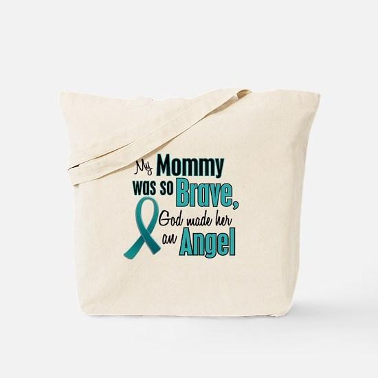Angel 1 TEAL (Mommy) Tote Bag