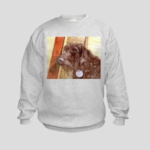 Chocolate Labradoodle Sweatshirt