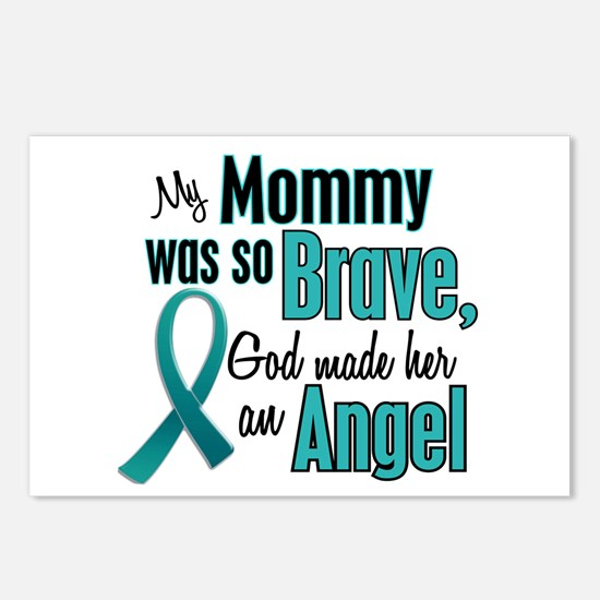 Angel 1 TEAL (Mommy) Postcards (Package of 8)
