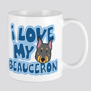 I Love my Beauceron Mug (Cartoon)