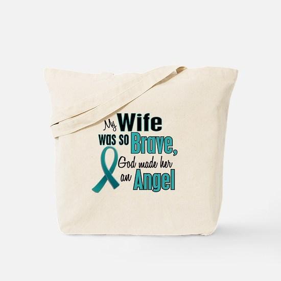 Angel 1 TEAL (Wife) Tote Bag