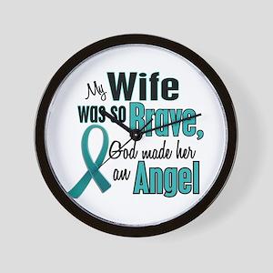 Angel 1 TEAL (Wife) Wall Clock