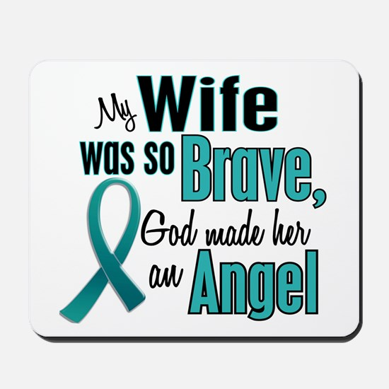 Angel 1 TEAL (Wife) Mousepad