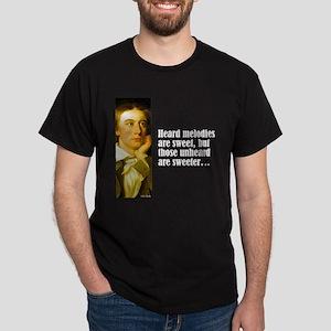 """Keats """"Heard Melodies"""" Dark T-Shirt"""