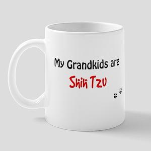 Shih Tzu Grandkids Mug