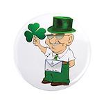 "Manny the Irish Mason 3.5"" Button"