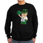 Manny sure gets around Sweatshirt (dark)
