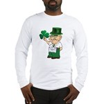 Manny sure gets around Long Sleeve T-Shirt