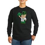 Manny sure gets around Long Sleeve Dark T-Shirt