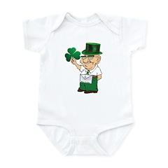 Manny sure gets around Infant Bodysuit