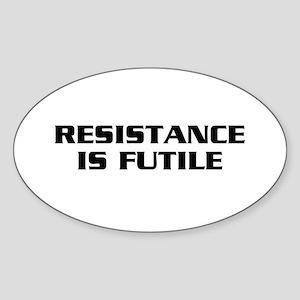 Resistance Sticker (Oval)