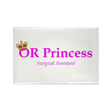 OR Princess SA Rectangle Magnet
