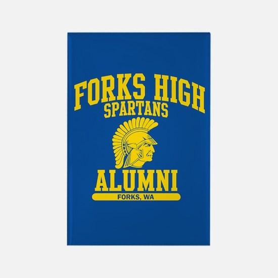 Funny Forks high school Rectangle Magnet