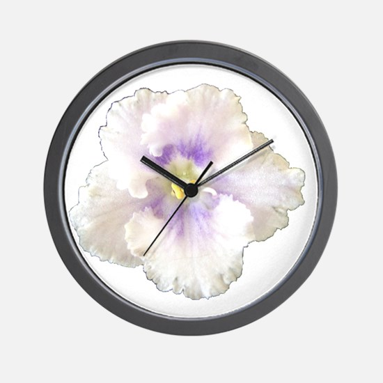 Berry Happy (white & purple) Wall Clock