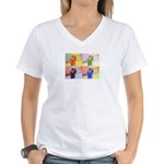 office ape Women's V-Neck T-Shirt