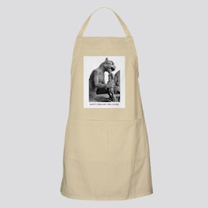 DON'T PISS OFF THE COOK gargoyle BBQ Apron