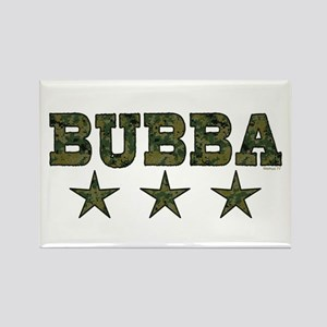 Bubba Rectangle Magnet