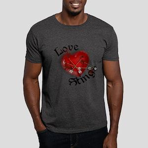 Love Stings Dark T-Shirt