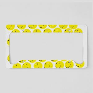 Smiles License Plate Holder