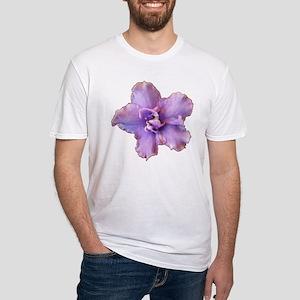 Raspberry Chiffon Fitted T-Shirt