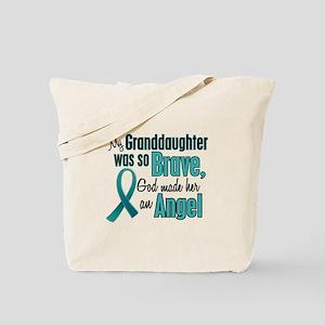 Angel 1 TEAL (Granddaughter) Tote Bag
