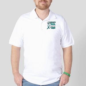 Angel 1 TEAL (Granddaughter) Golf Shirt