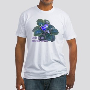 Gone to Pot African Violets Fitted T-Shirt