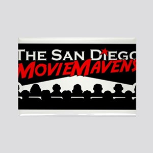 The San Diego MovieMavens Rectangle Magnet
