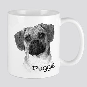 Perfect Puggle Portrait Mug