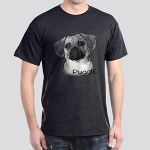 Perfect Puggle Portrait Dark T-Shirt