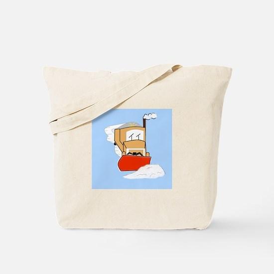 Unique Plowing Tote Bag