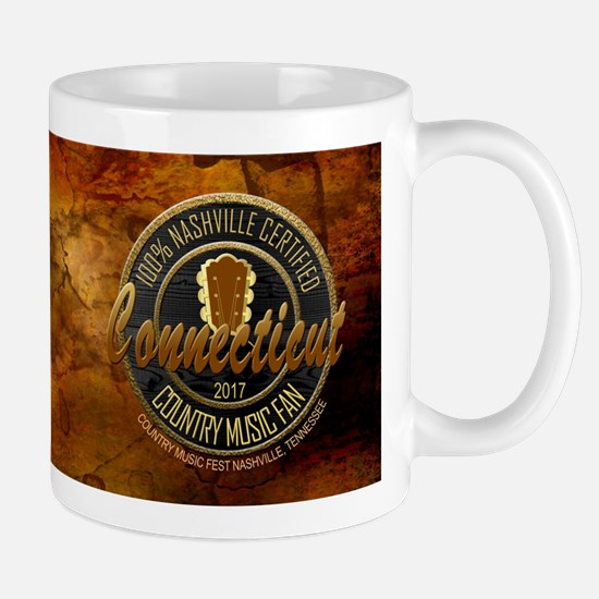 Connecticut Country Music Fan Mugs