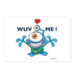 """WUV ME!"" - Postcards (Package of 8)"