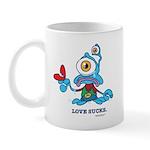 """""""Love Sucks"""" - Mug"""