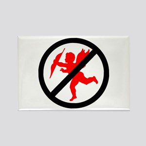 No cupids allowed /1 Rectangle Magnet