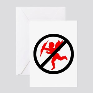 No cupids allowed /1 Greeting Card