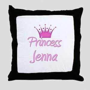 Princess Jenna Throw Pillow