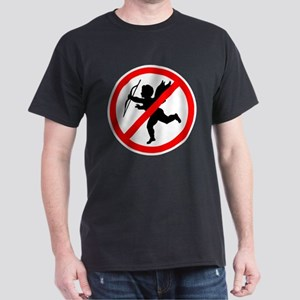 No cupids allowed /2 Dark T-Shirt