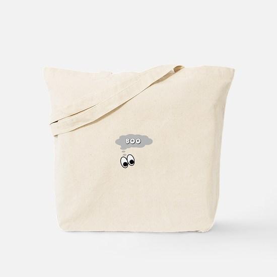 Ghost Eyes Boo Tote Bag