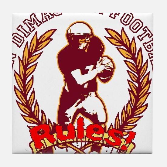 San Dimas HS Football RULES! Tile Coaster