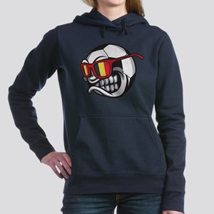Belgium Angry Soccer Ball with Sunglass Sweatshirt