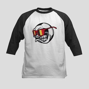 Belgium Angry Soccer Ball with Sun Baseball Jersey