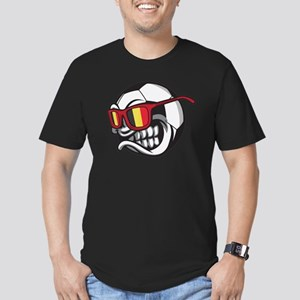 Belgium Angry Soccer Ball with Sunglasses T-Shirt